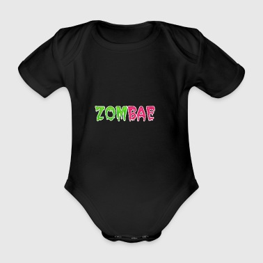 ZOMBAE - Organic Short-sleeved Baby Bodysuit