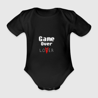 Game over lover w - Økologisk kortermet baby-body