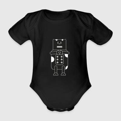Cow Rock Heavy Metal - Organic Short-sleeved Baby Bodysuit