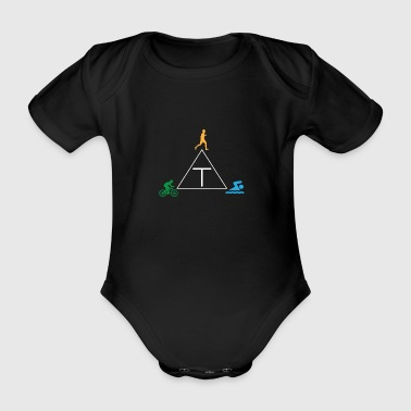 Triathlon - Baby Bio-Kurzarm-Body