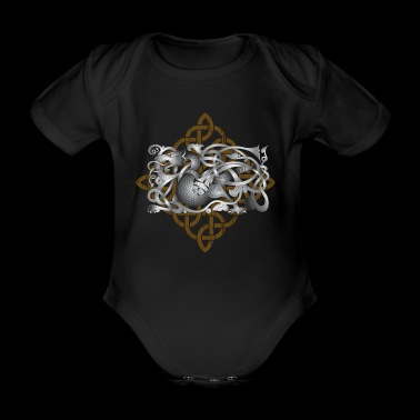 Celtic Dragon - Ekologisk kortärmad babybody