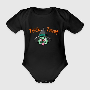 Trick or Treat T-Shirt - Organic Short-sleeved Baby Bodysuit
