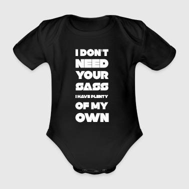 Sass - Organic Short-sleeved Baby Bodysuit