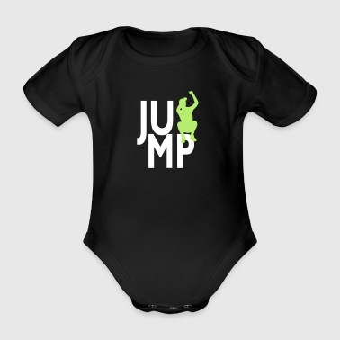 JUMP - Organic Short-sleeved Baby Bodysuit
