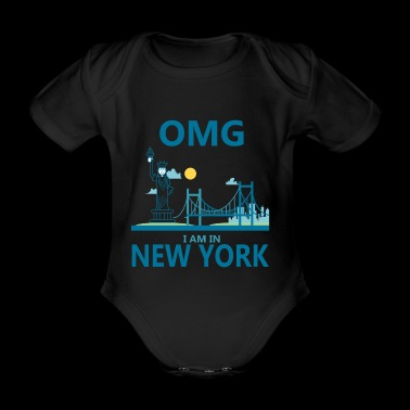 NEW YORK - Økologisk kortermet baby-body