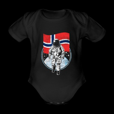 Norway - Organic Short-sleeved Baby Bodysuit