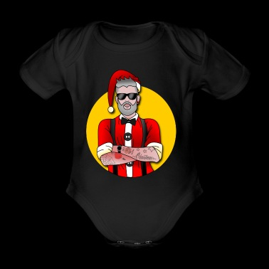 Hyp'y Christmas - Organic Short-sleeved Baby Bodysuit