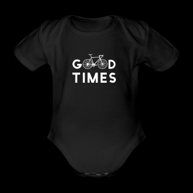 Cool Bicycle Shirt Road Bike Gift Bicicleta divertida - Body orgánico de maga corta para bebé