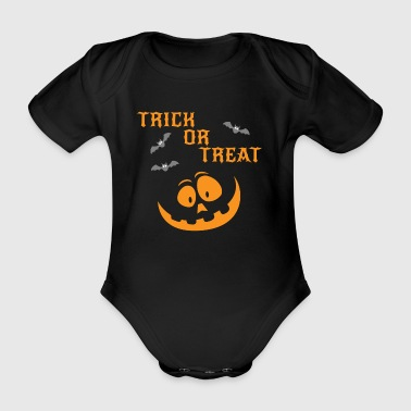 Trick Or Treat Bd9LkZ - Organic Short-sleeved Baby Bodysuit