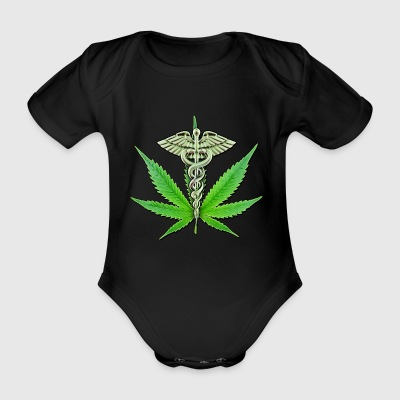 Medical Marijuana - Organic Short-sleeved Baby Bodysuit