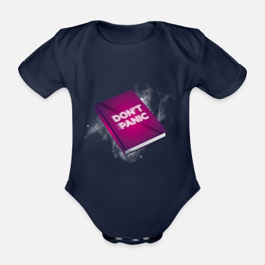 Don't Panic Don't panic - Organic Short-Sleeved Baby Bodysuit