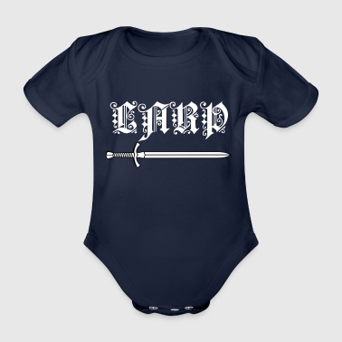 LARP 2 - Organic Short-sleeved Baby Bodysuit
