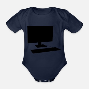 Pc PC - Organic Short-Sleeved Baby Bodysuit
