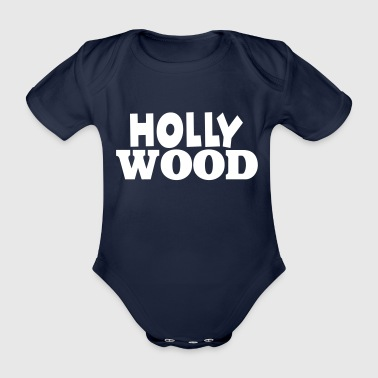 Hollywood Hollywood - Body ecologico per neonato a manica corta