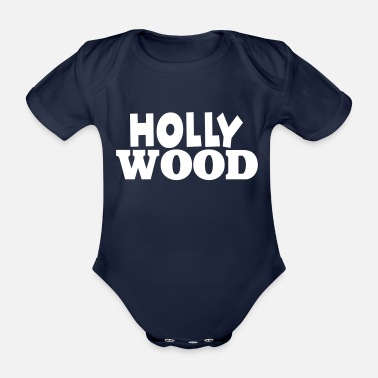 Hollywood Hollywood - Baby bio-rompertje met korte mouwen