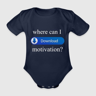 motivation - Organic Short-sleeved Baby Bodysuit