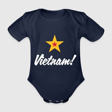 Communist Vietnam - Organic Short-sleeved Baby Bodysuit