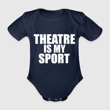 theatre - Organic Short-sleeved Baby Bodysuit