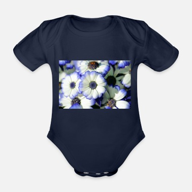 Close Up Daisies Close up - Organic Short-Sleeved Baby Bodysuit