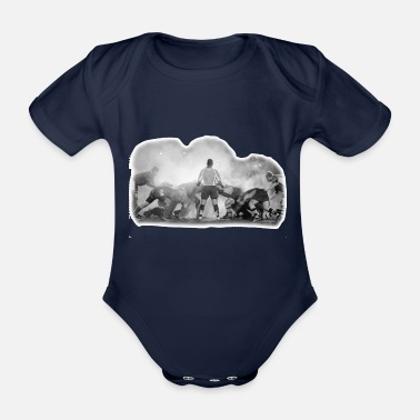 Scrum Rugby Rugby Scrum - Organic Short-Sleeved Baby Bodysuit