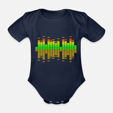 Equalizer equalizer - Organic Short-Sleeved Baby Bodysuit