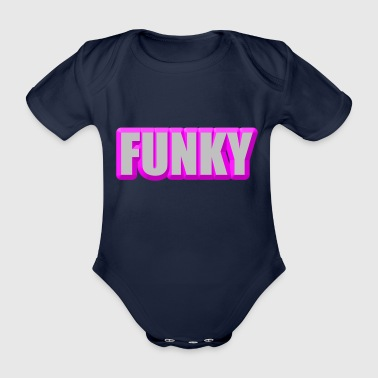 funky - Organic Short-sleeved Baby Bodysuit