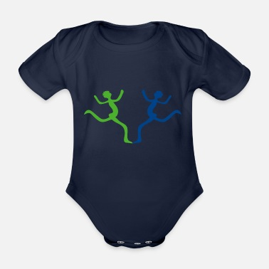 Joy joy - Organic Short-sleeved Baby Bodysuit