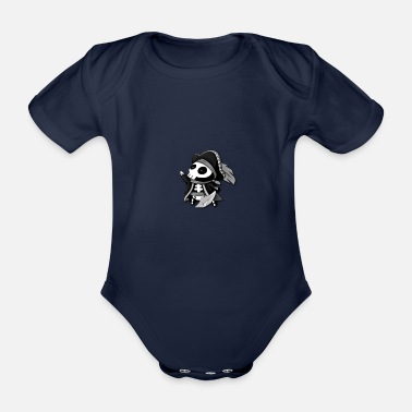 Poll Water Polle - Organic Short-Sleeved Baby Bodysuit