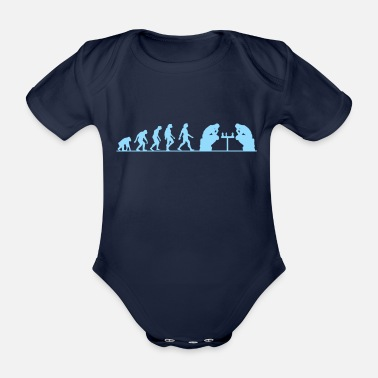 Failure Evolution failure - Organic Short-Sleeved Baby Bodysuit