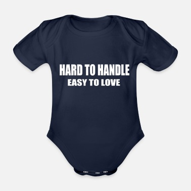 Handle Handle - Organic Short-Sleeved Baby Bodysuit