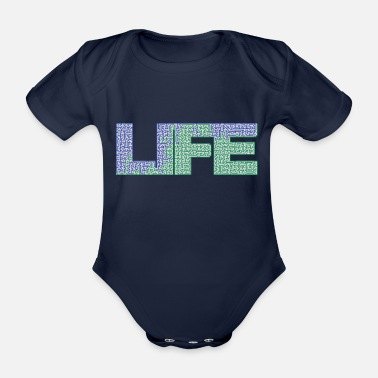 Labyrinth labyrinth - Organic Short-Sleeved Baby Bodysuit