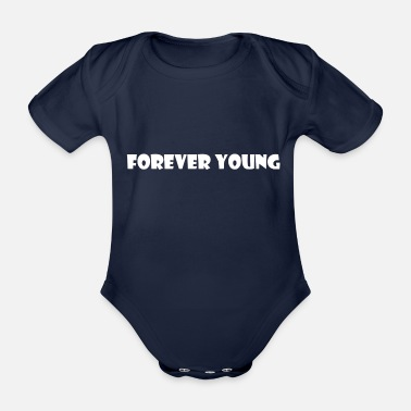 Young Money Forever Young White - Body neonato a manica corta