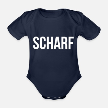 Sharp Sharp - Organic Short-sleeved Baby Bodysuit