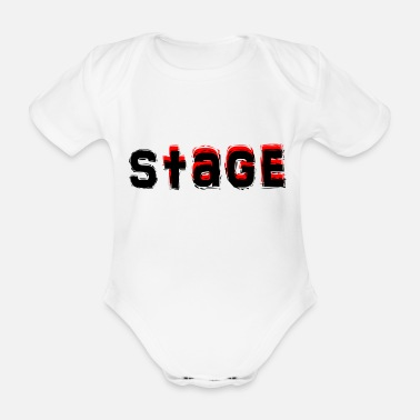 Stage Stage 11 - Organic Short-Sleeved Baby Bodysuit