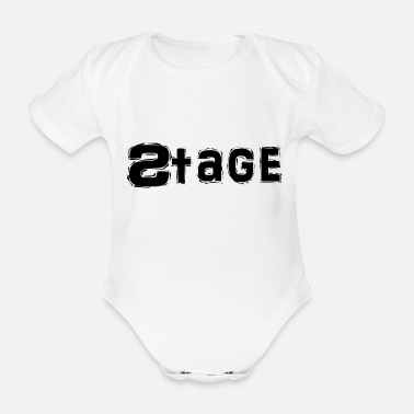 Stage Stage - Organic Short-Sleeved Baby Bodysuit