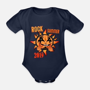 Summer 2019 Rock Summer 2019 - Organic Short-Sleeved Baby Bodysuit