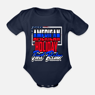 President Day Of The President's Presidency - Organic Short-Sleeved Baby Bodysuit