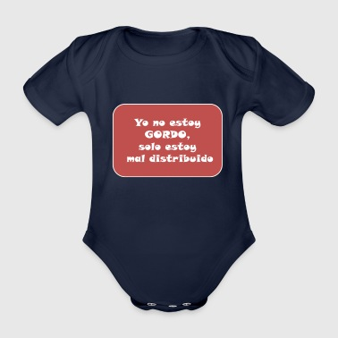 FAT - Organic Short-sleeved Baby Bodysuit