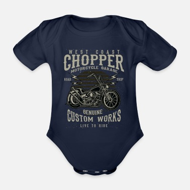 West West Coast Chopper - Baby Bio Kurzarmbody