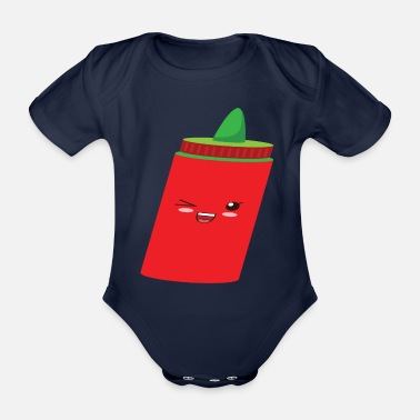 Best Wife Ketchup - Organic Short-Sleeved Baby Bodysuit