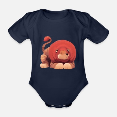 Illustration Illustration - lion - Body bébé bio manches courtes