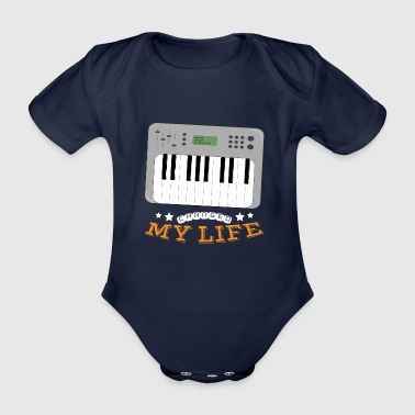 Synthesizer Changed My Life - Organic Short-sleeved Baby Bodysuit