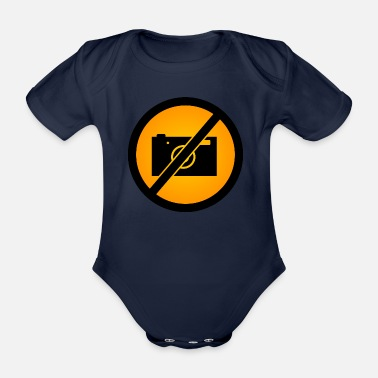 Picture No pictures - Organic Short-sleeved Baby Bodysuit