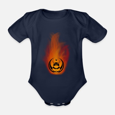 Army Seven nation army Fire - Body bébé bio manches courtes