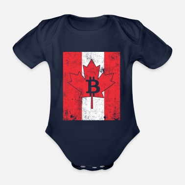 Rich BitCanada - Organic Short-sleeved Baby Bodysuit