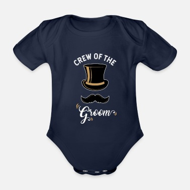 Party Bachelor Party Bachelor Party Groom - Organic Short-Sleeved Baby Bodysuit