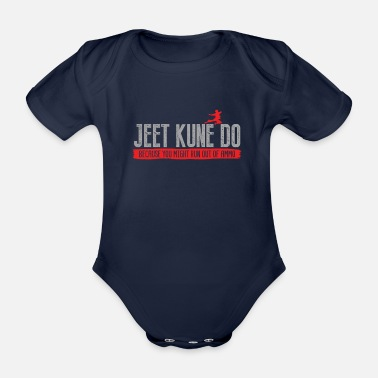 Combat Sport Jeet Kune Do Because You Might Run Out Of Ammo - Organic Short-Sleeved Baby Bodysuit