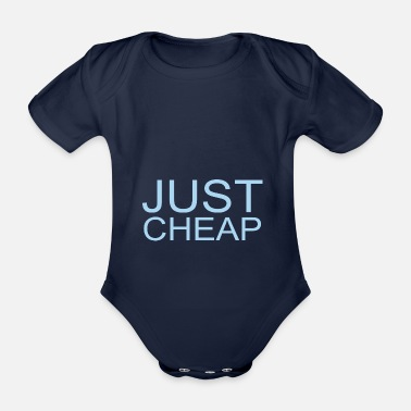 Cheap Simply Cheap - Just Cheap - Organic Short-Sleeved Baby Bodysuit