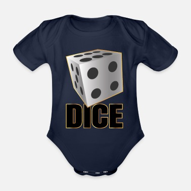 Dice DICE - Dice - Organic Short-sleeved Baby Bodysuit