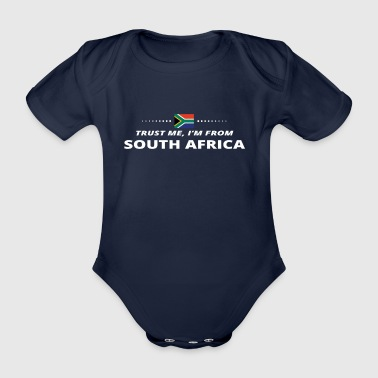 trust me from proud gift SOUTH AFRICA - Organic Short-sleeved Baby Bodysuit